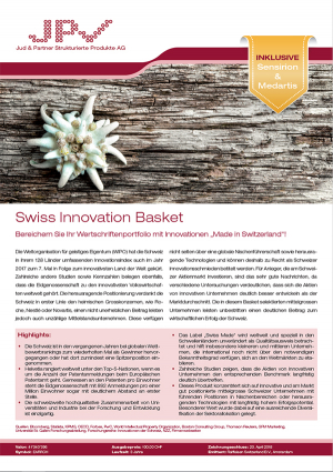 Schweiz Innovation