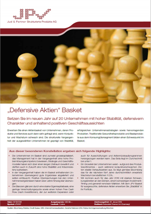 Defensive Aktien